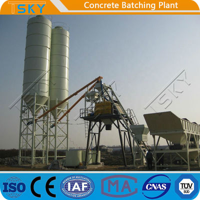 ECO Friendly 180m3 / h HZS180 Station Batching Plant